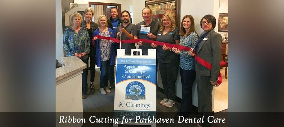 Ribbon Cutting – Parkhaven Dental