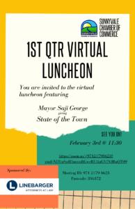 1st Quarter Virtual Luncheon