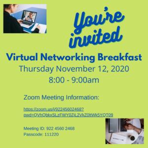 Virtual Breakfast - November 12th